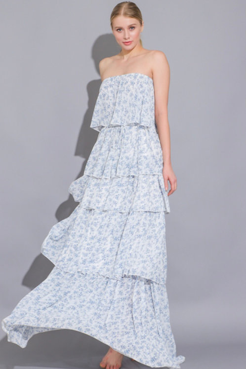 The Valencia Ruffle Maxi Dress