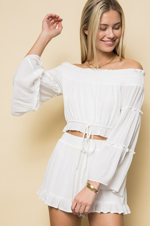 The Chiara Off The Shoulder Blouse