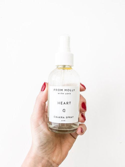 From Molly with Love | Heart Chakra Spray