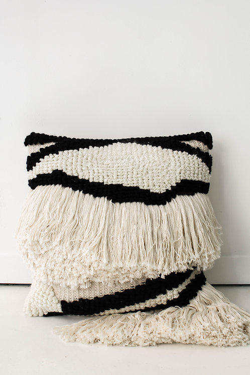 Tribal Woven Pillow