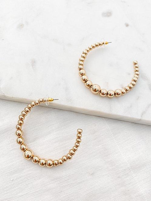 Elan Jewels | Bubble Hoop Earrings