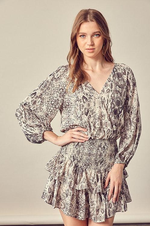 The Eliya Romper Dress