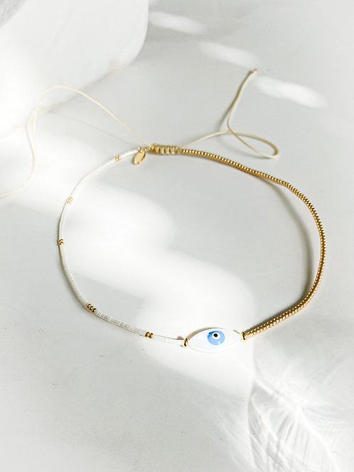 Agua Santa | Evil Eye Necklace