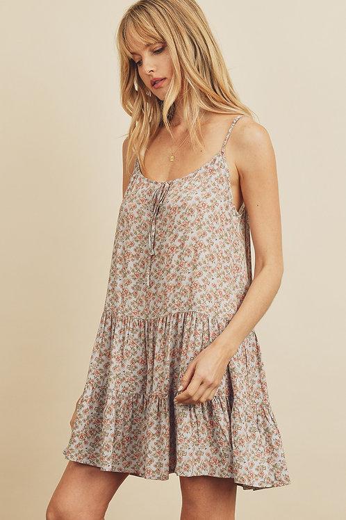 Elissa Tiered Swing Dress