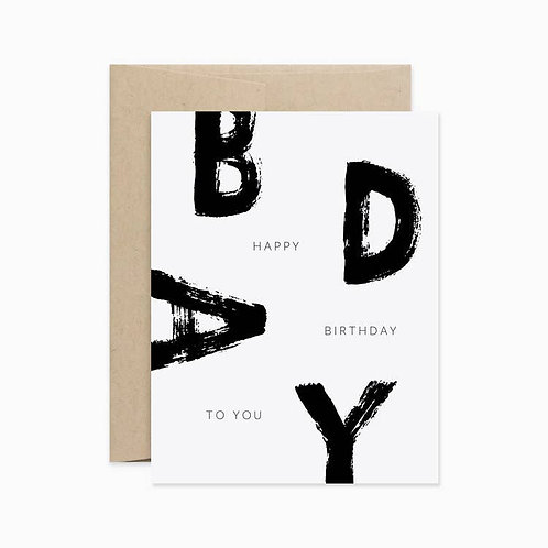 Evermore Paper Co. | Happy Birthday To You
