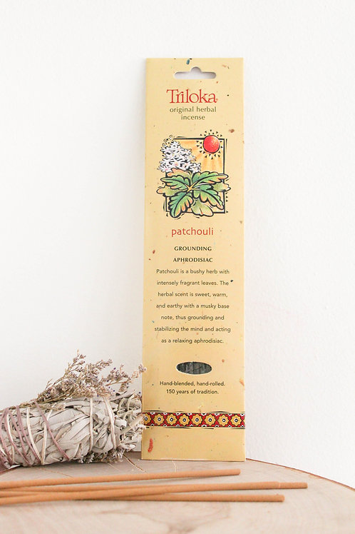 Triloka Patchouli Incense