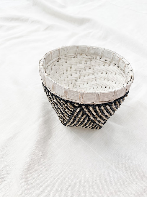 Poppy + Sage Beaded Trinket Basket