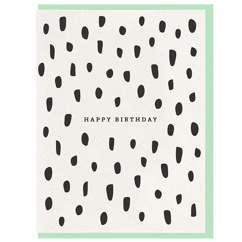 Dahlia Press | Birthday Brush Card