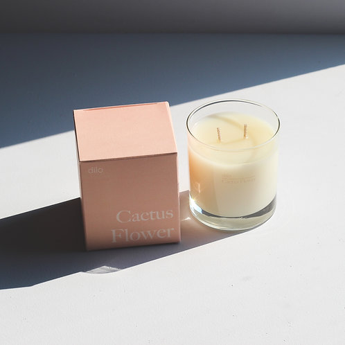 Dilo Candle Co. | Cactus Flower