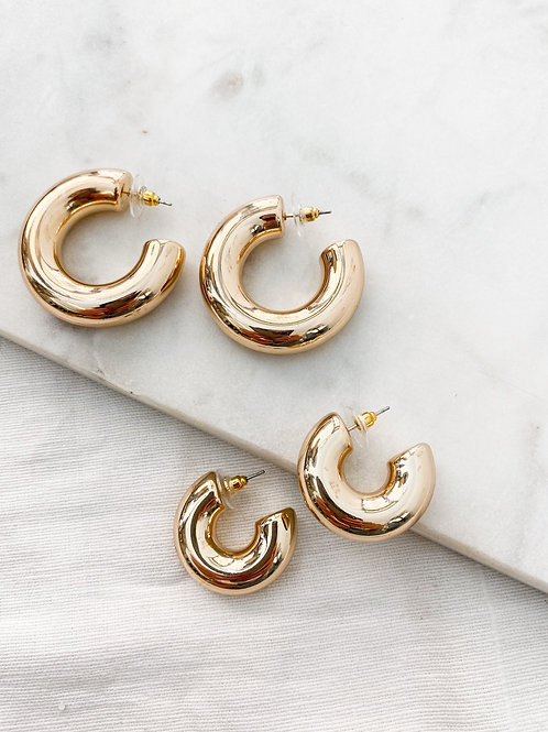 Elan Jewels | Macro Hoop Earrings