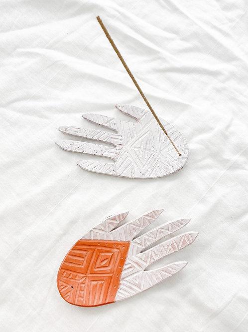 Hand + Fiber | Hamsa Hand Incense Holder
