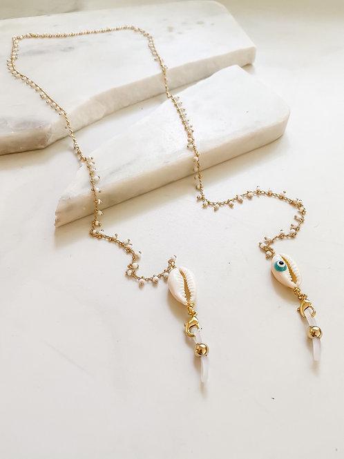 AGUA SANTA | Pearl + Shells Sunglass Cord