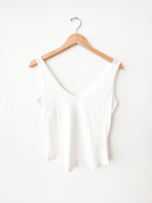 Beachwood Tank | White