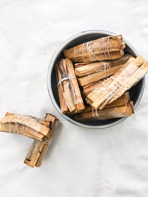Mandarin + Vetiver Infused Palo Santo