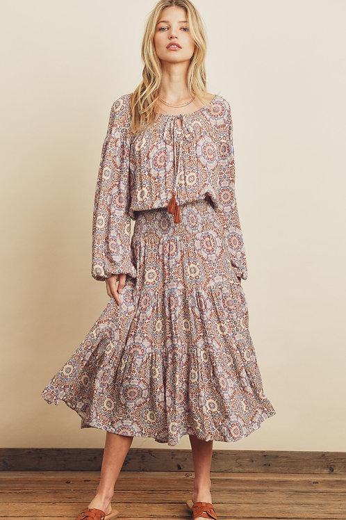 The Moroccan Midi Dress