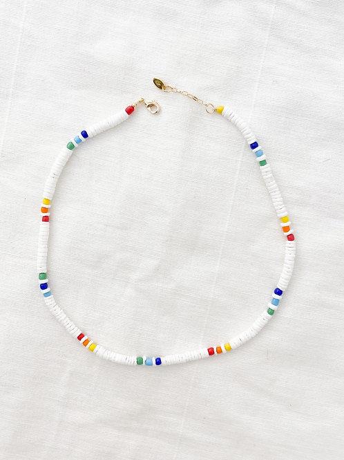 AGUA SANTA   Rainbow Beads Necklace