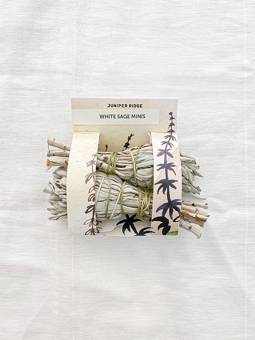 Juniper Ridge | White Sage Mini Bundle