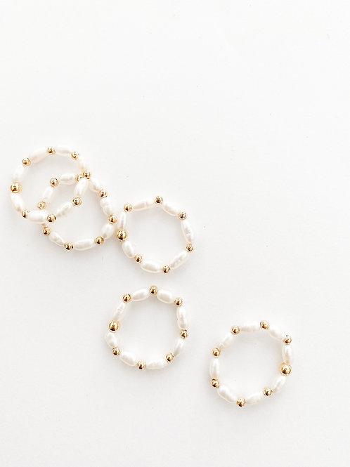 Agua Santa | Pearl Ring