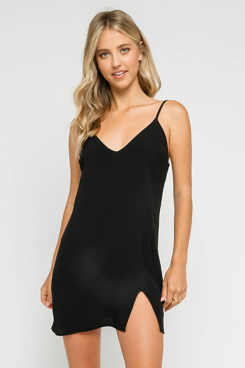 The Ciara Slip Dress | Black