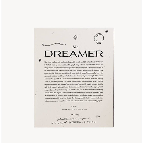 Wild House Paper | The Dreamer Print