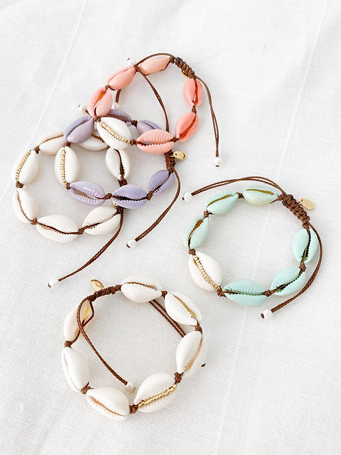 AGUA SANTA | Cowrie Shell Bracelet