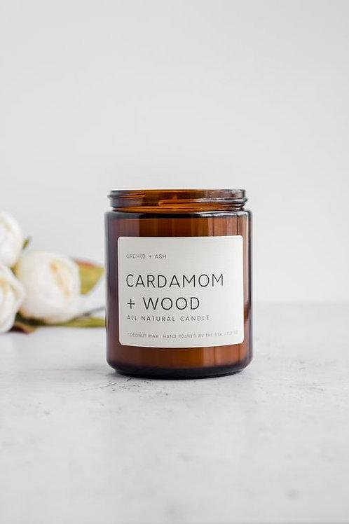 Orchid + Ash   Cardamom +Wood