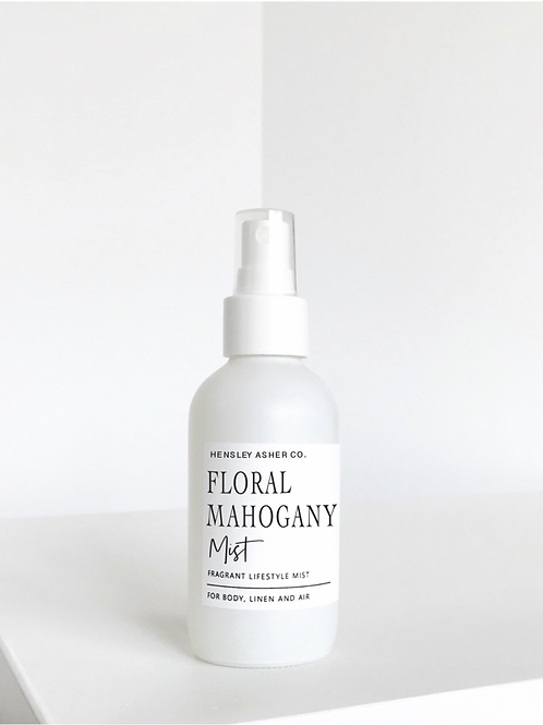 Hensley Asher Co.   Floral Mahogany Mist