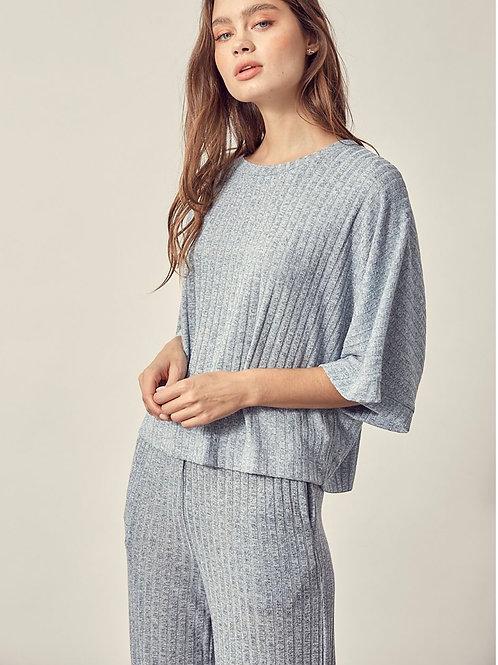 The Cozy Up Loungewear Set | Denim