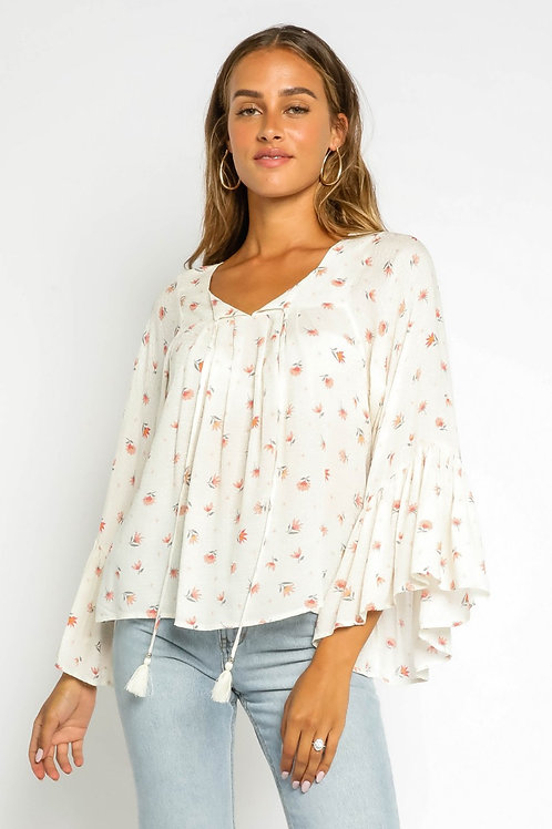 The Hailey Floral Blouse