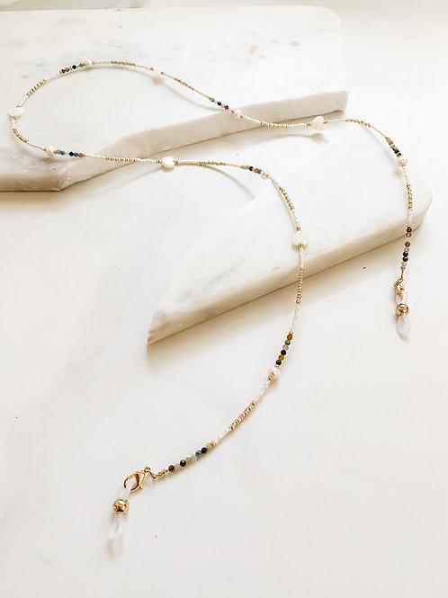 AGUA SANTA | Pearl + Stone Sunglass Cord