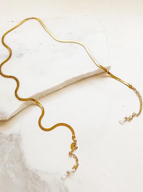 Agua Santa | Silk Chain Sunglass/Mask Cord