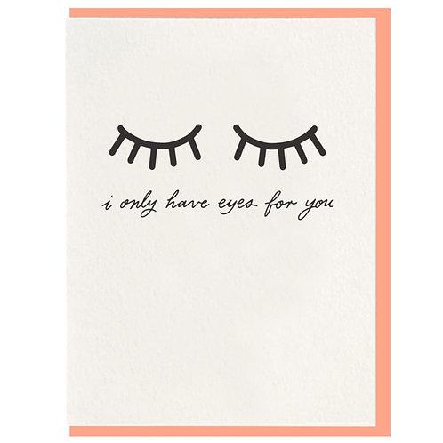 Dahlia Press | Eyes For You Card