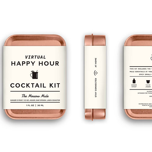 Virtual Happy Hour Moscow Mule Kit