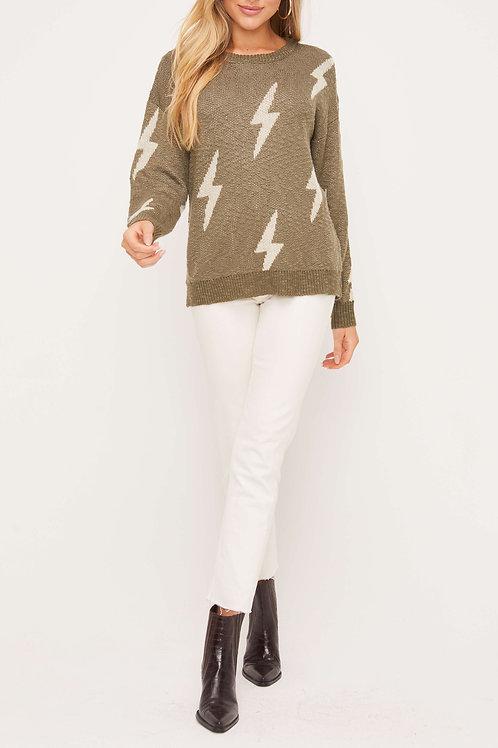 The Lightning Bolt Sweater