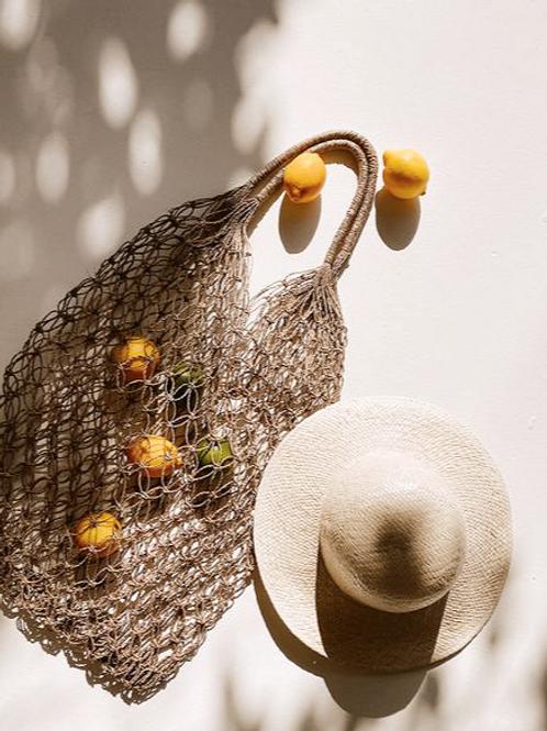Natural Mesh Market Bag