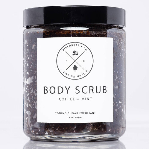 Birchrose + Co | Coffee + Mint Body Scrub