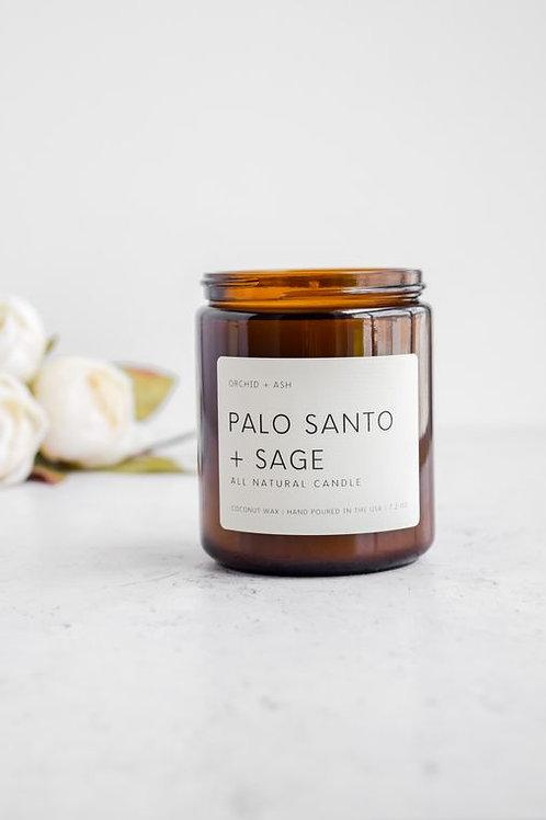 Orchid + Ash   Palo Santo + Sage