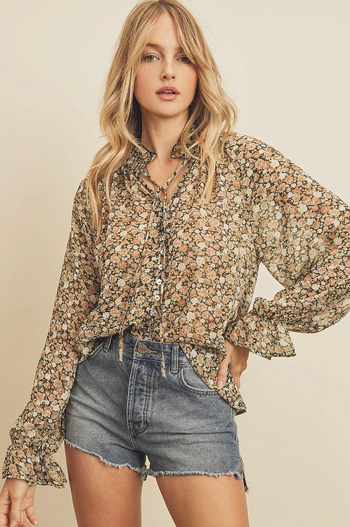 The Flower Child Blouse