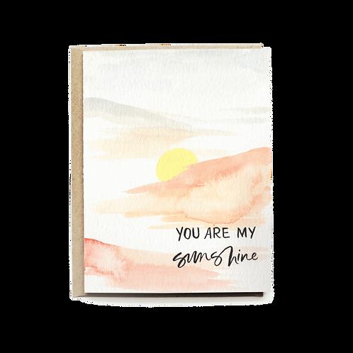 Pen+Pillar | You Are My Sunshine