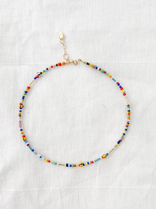 AGUA SANTA | Multi Colored Beaded Necklace