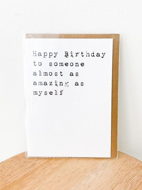 Crimson & Clover Studio | Happy Birthday
