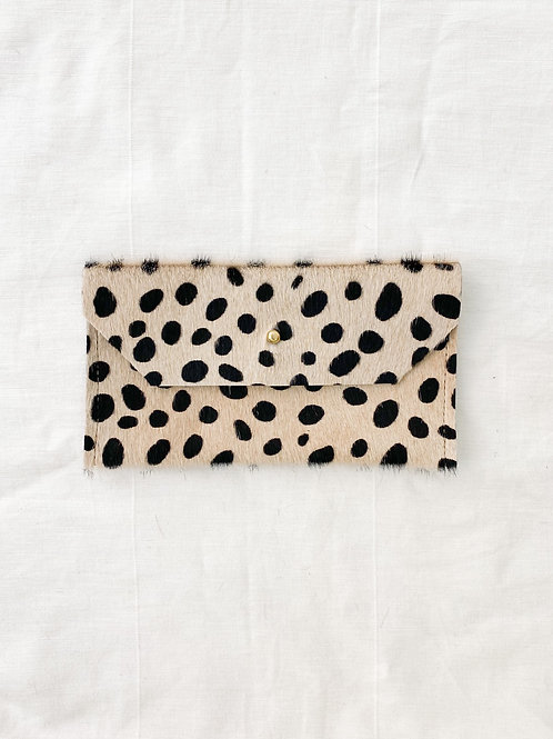CB | Spotted Iphone/Envelope Clutch