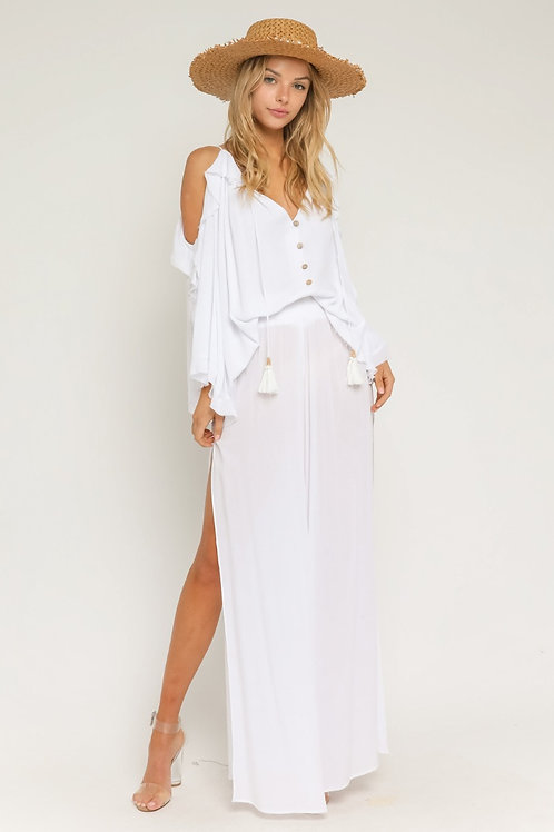 The Cabo Side Slit Pant