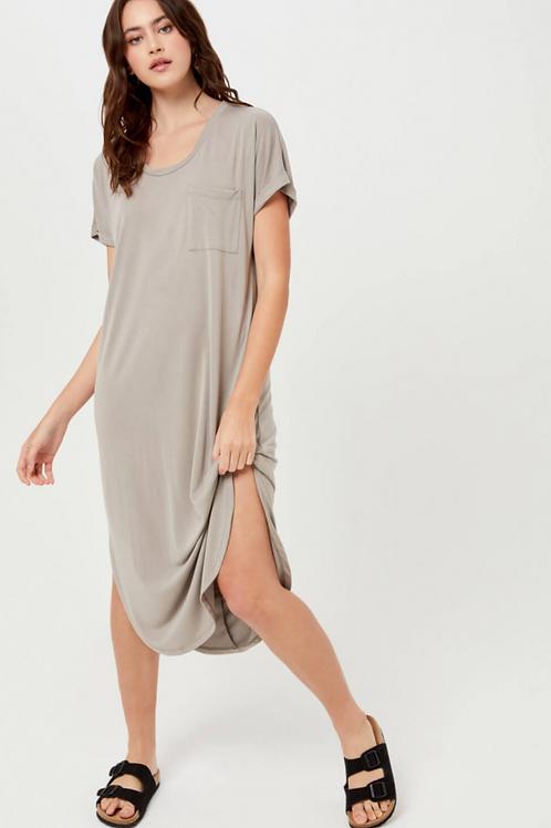 The Moxy T-Shirt Midi Dress