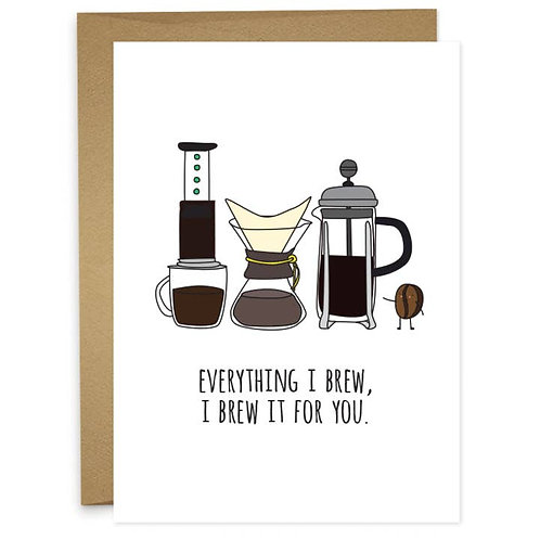 Humdrum Paper | Everything I Brew For You