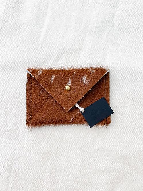 CB   Fur/Hide Card Wallet
