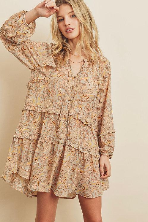The Summer Paisley Dress