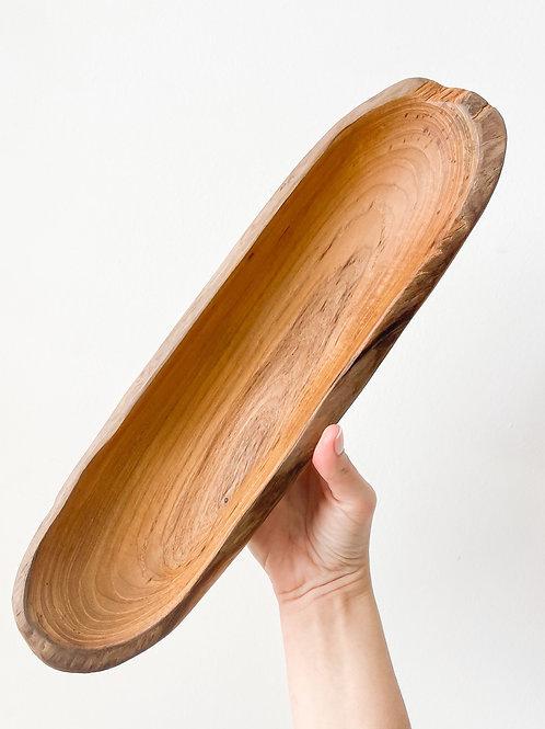 Natural Wood Bowl