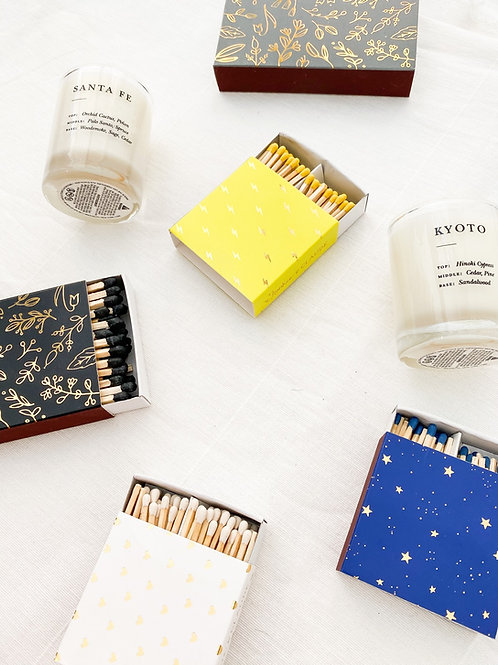 Frankie & Claude Mini Matchstick Boxes