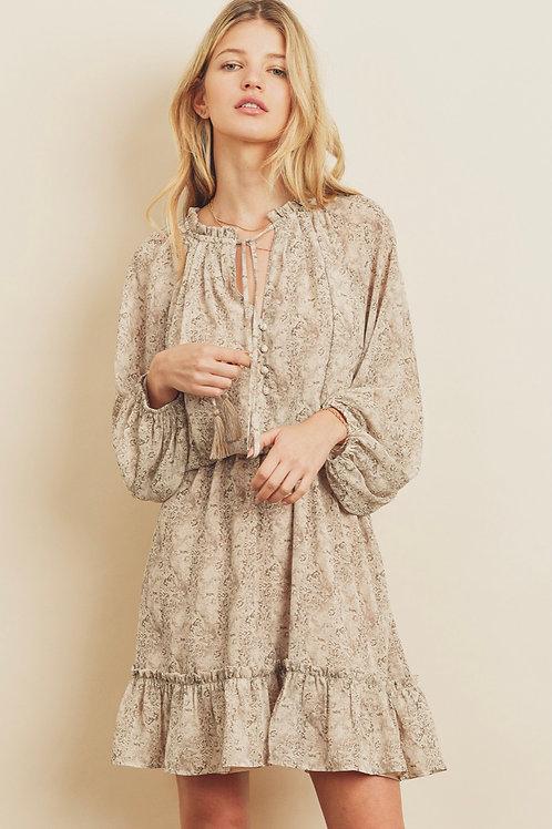 The Ash Boho Mini Dress